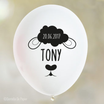 Ballons personnalisés - Anniversaire