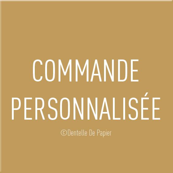 Commandes spéciales