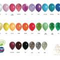 Ballon fiche couleurs web