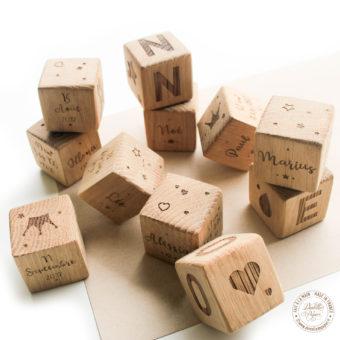 Cubes bois