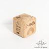 coffret Hello brosse cube plaque panier naissance cadeau bébé-5