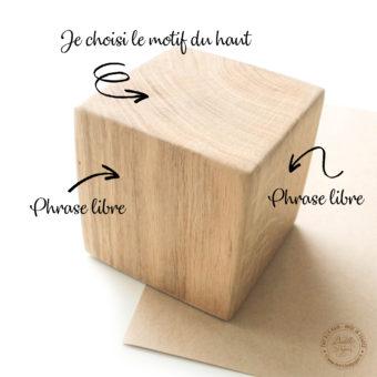 Cube-bois-personnalise