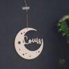 Suspension lune grand format chambre Louis-1